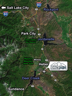 OK3 AIR Airport Information - Heber Valley Airport (KHCR)